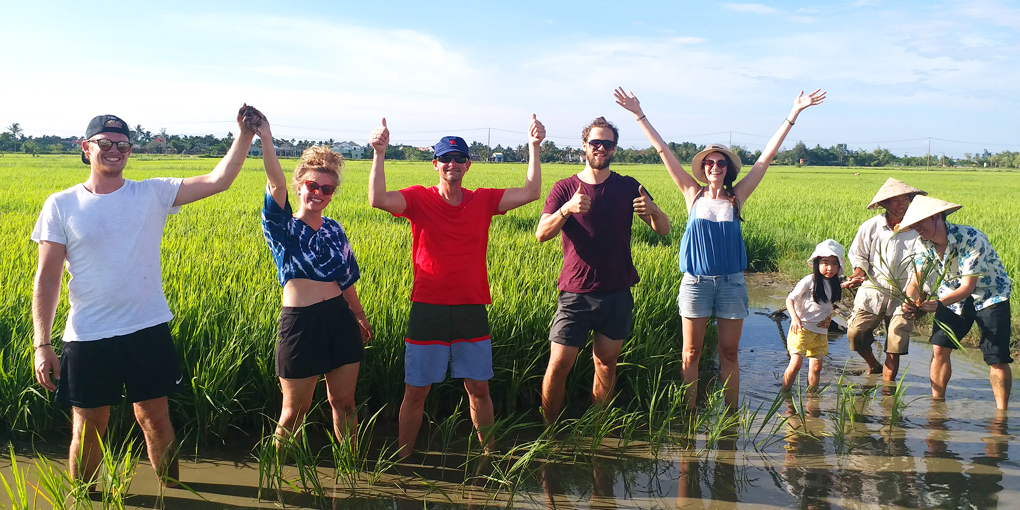 4. Wet Rice Growing Experience ( small group bike tour )